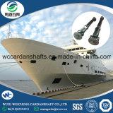 Antriebsachse für das Rettungsboot ausgerüstet auf Behälter
