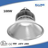 100W 크리 사람 LED 높은 만 전등 설비