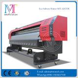 좋은 품질 두 배 4는 착색한다 Epson 인쇄 헤드 (이중 인쇄 헤드)와 가진 1.8m/3.2m Eco 용해력이 있는 인쇄 기계를