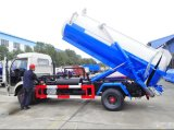 Marca Dongfeng 4X2 Esq/Dir 6cbm do caminhão-tanque de efluentes