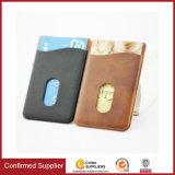Suporte de cartão do telefone móvel da carteira do cartão de crédito da etiqueta do adesivo do universal 3m