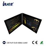 2.8 인치 LCD 스크린 영상을%s 가진 결혼식 권유를 위해 주문을 받아서 만드는