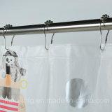Высокое качество печати душ PEVA шторки с водонепроницаемый для купания в ванной комнате