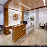 Scrittorio anteriore rotondo di ufficio del CE delle forniture di ricezione dell'ufficio approvato dello scrittorio