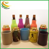 Comercio al por mayor impresas personalizadas de neopreno con aislamiento de titular de la lata de cerveza