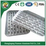 De Plaat en het Dienblad van de Container van de aluminiumfolie voor Barbecue en Baksel