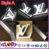 Acrylic Front Lit and LED Light Letter Sign for Advertising