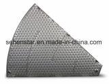 Soudage au laser de la plaque d'échange thermique de la qualité de Nice la plaque de refroidissement