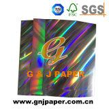 Holograma de laminado de alta calidad de la Junta metalizado o papel para envolver