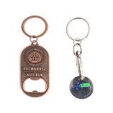 Keyring Fabricants trousseau vide métalliques personnalisées/key Chaîne/Key Ring Forpromotional Cadeaux