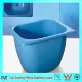 Color azul vacío Ducha Bañera bañera para bebés