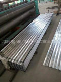 Galvanizado en caliente de hierro corrugado/Hoja de Acero Galvanizado calibre 22 hojas de techado