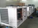 Un cuarto frío modular con unidad de condensación Bitzer