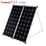 comitato solare pieghevole monocristallino 200W