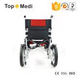 2017 preços de dobramento elétricos quentes da cadeira de rodas da potência do equipamento médico da venda para enfermos
