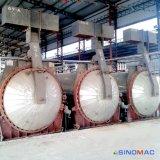 El diámetro de 2,85 m de ladrillos de hormigón hueco Autoclave con Calefacción de vapor