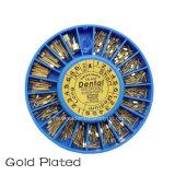 De tand Implant van de schroef Goud Geplateerde Posten van de Schroef
