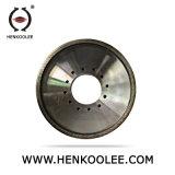지속적인 변죽은 세라믹 벽 도와를 위한 다이아몬드 건조하 가는 바퀴를 금속 접착시킨다