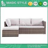 Для использования вне помещений Kd удобный диван с подушкой 130 устанавливает плетеной диван для 40HQ патио, удобный диван, сад плетеной диван, плетеной плетение диван,