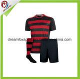 Camisa de encargo barata del fútbol de Jersey del balompié de la sublimación del nuevo diseño