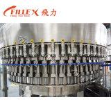 Máquina que capsula de relleno que se lava automática del agua potable de la botella del animal doméstico