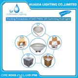 luz subacuática de la piscina de la lámpara del bulbo LED del reemplazo de 12V 300W PAR56 con el telecontrol