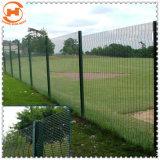 Revestimiento de polvo de galvanizado Jardín cercas de malla de alambre de seguridad