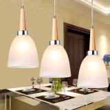 Moderne Birnen-geformtes hängende Lampen-hängendes Glaslicht