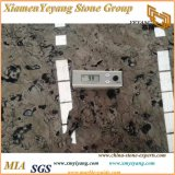 큰 Polished 대리석 석판 손 씻는 그릇 또는 화병 또는 까만 대리석 또는 브라운 대리석 (YY-MS197) 그리는 중국 잉크