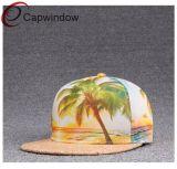 Painel 5 estilo havaiano Snapback Hat com visor especial