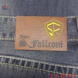 OEM-Patch Custom джинсы кожаный ярлык для одежды