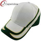 El bordado cruz de centrado en la tapa de Basebal Corona/Hat
