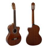 Форма Cutway гитара Classcai тела Cutway 39 дюймов Mahogany
