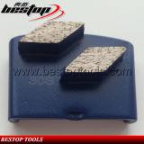 De Malende Schoen van de Ruit van de diamant HTC voor Malen van de Vloer van het Terrazzo het Concrete