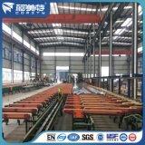 SGS de alta calidad de la fábrica de aluminio anodizado color bronce perfil de aluminio de cortina para la vía