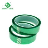 Custom de PET de alta temperatura Cinta Verde para el conjunto electrónico