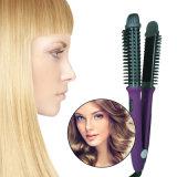 Escova de LCD eléctrica profissional mais recente alisador de cabelo
