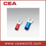 Terminais isolados Spade Shape com Certificados pela UL para o conector do fio China Fabricante