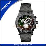 Nouvelle arrivée de luxe en acier inoxydable montre chronographe montre de sport