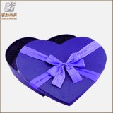 Rectángulo de empaquetado 2017 del caramelo de chocolate de la boda de la dimensión de una variable del corazón