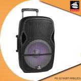 15 Zoll Berufs-PA-Systems-Verstärker MultifunktionsBluetooth Portable-Lautsprecher