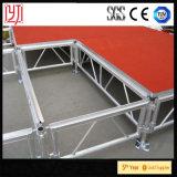 Алюминиевые платформы регулируемые 0.4m-2m этапа рамки