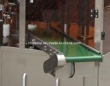 Fastfood- Reißverschluss-Beutel formte Beutel-Verpackmaschine vor