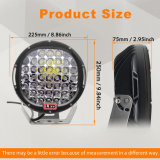 El brillo de la luz de conducción para Coche 96W 7pulgadas CREE IP68 Luz LED de trabajo para el vehículo todoterreno