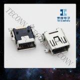 小型USBのタイプソケットConnectpr