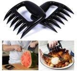 BBQ de Hittebestendige Geplaatste Klauwen van het Vlees van de Handschoenen van de Oven van de Grill Kokende