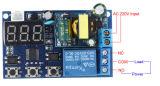 module de commutateur de rupteur d'allumage de délai de domotique d'AP de relais de temps de retard de cycle de déclenchement d'Individu-Blocage d'Afficheur LED de 110V 220V 5A