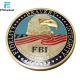 Настраиваемые 3D-Eagle США флаг оптовые цены на старой золотой медали