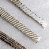 Pulseras de reloj elásticos aplicadas con brocha pulidas diverso diseño del metal