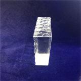 Het stevige Blok van Galss van het Kristal voor de Decoratie van de Muur